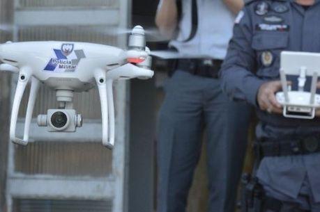Policiais também recebem orientações sobre uso dos drones