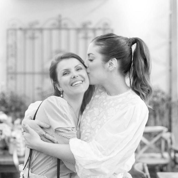 'Aninha, te amo e amarei para sempre até o infinito', disse Fabiana Justus