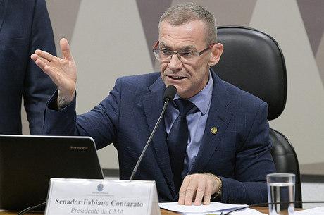 Senador Fabiano Contarato foi autor do voto