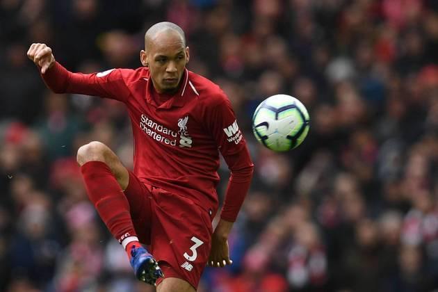 FABINHO (V, Liverpool) - A Seleção também perdeu um volante que atua no futebol inglês devido ao veto dos clubes da Premier League.