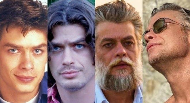 Ator passou por várias transformações ao longo de 49 anos de idade