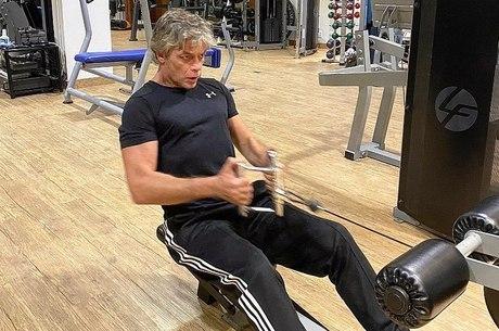 Personal trainer elogia Fábio Assunção