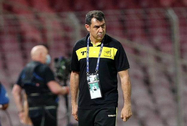 Fábio CarilleCampeão brasileiro pelo Corinthians em 2018, Carille chegou ao Al-Ittihad em 2020 com a missão de fazer a equipe saudita voltar aos títulos
