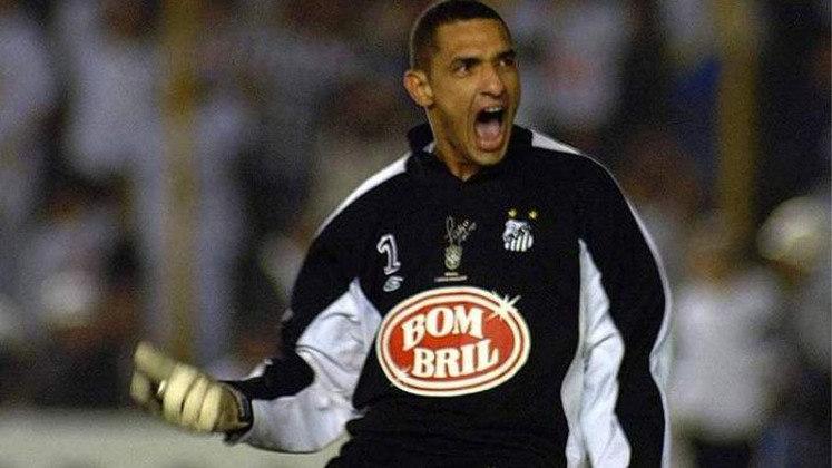 Fábio Costa - Posição: goleiro - Time em que jogou: Vitória