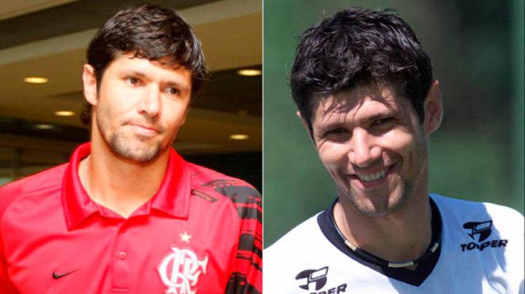 FÁBIO LUCIANO – O zagueiro Fábio Luciano venceu Mundial de Clubes, Copa do Brasil e dois Paulistas no Corinthians. No Flamengo ganhou dois Cariocas.