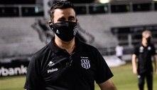 Por pandemia, técnico da Ponte defende paralisação do futebol