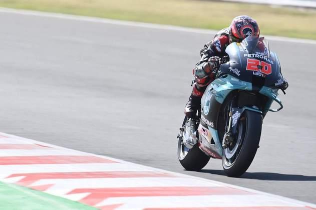 Fabio Quartararo abandonou e perdeu a liderança na classificação