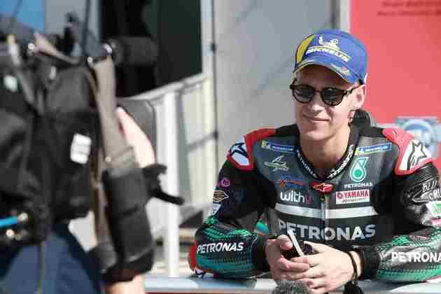 Fabio Quartararo completa os três primeiros do grid de largada