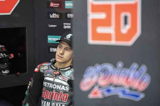 Fabio Quartararo conseguiu apenas o 11º posto