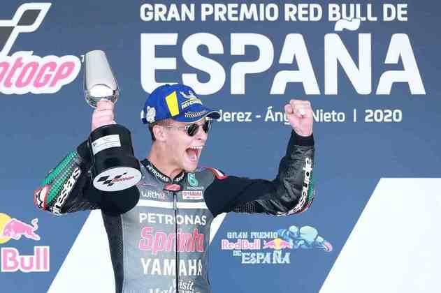 Fabio Quartararo é o único que venceu duas vezes em 2020 - ambas em Jerez