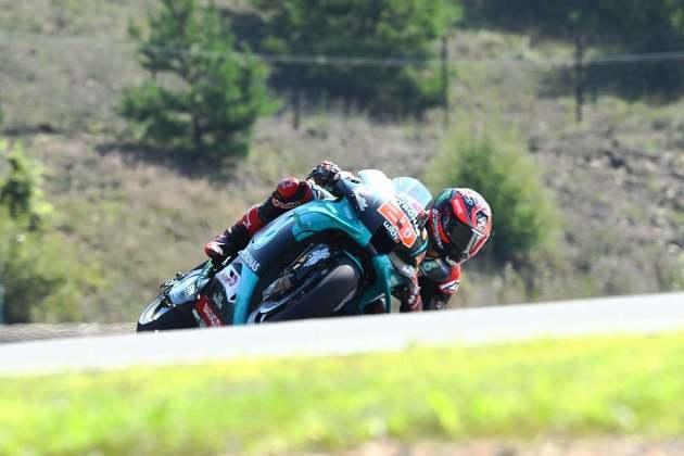 Fabio Quartararo foi o mais rápido do dia