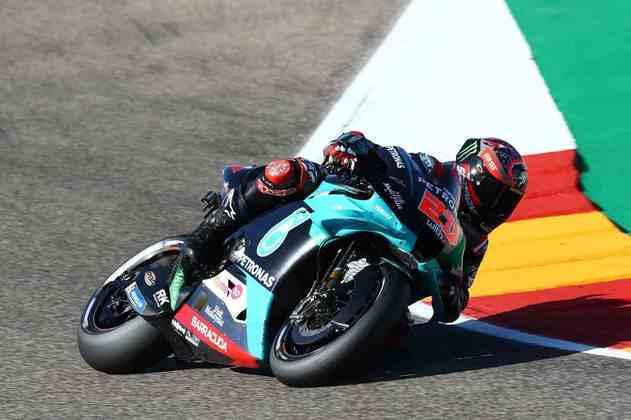Fabio Quartararo sai em sexto no GP de Teruel