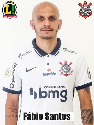 Fábio Santos - 6,0 - Em sua reestreia, não comprometeu e deu um pouco mais de consistência defensiva pelo lado esquerdo. Ainda tentou evitar o gol de empate, mas não conseguiu.