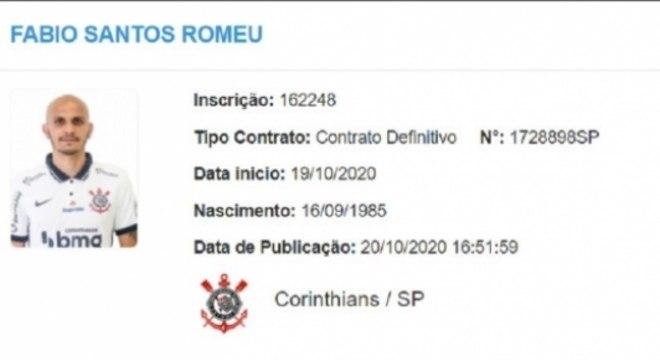 Fábio Santos - Corinthians - BID