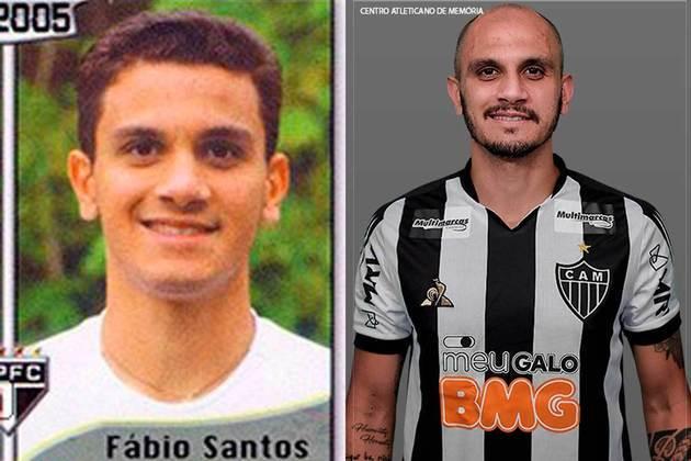 Fábio Santos jogou pelo São Paulo em 2005. Inicia o Brasileirão 2020 com 34 anos e jogando pelo Atlético-MG
