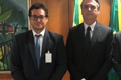 Fabio Wajngarten e o presidente Jair Bolsonaro
