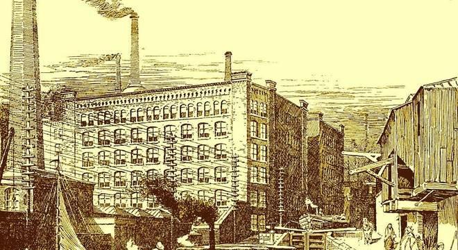 A vida no centro da Revolução Industrial foi extremamente difícil para muitos