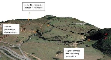 Crânio de Luzia foi achado na gruta Lapa Vermelha