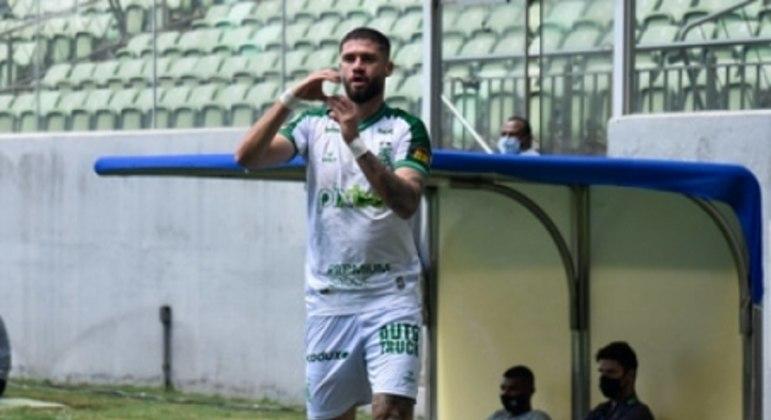 Fabrício Daniel foi o autor dos dois gols do Coelho sobre o Ceará na última rodada do Brasileiro