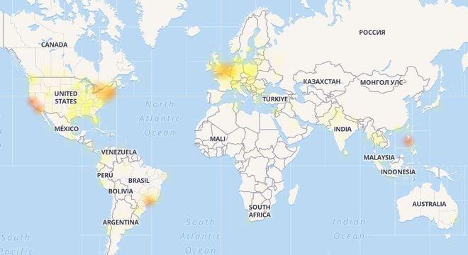 Facebook está fora do ar no Brasil e em diversos países
