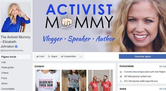"""Perfil da """"The Activist Mommy"""" bloqueado na semana passada"""