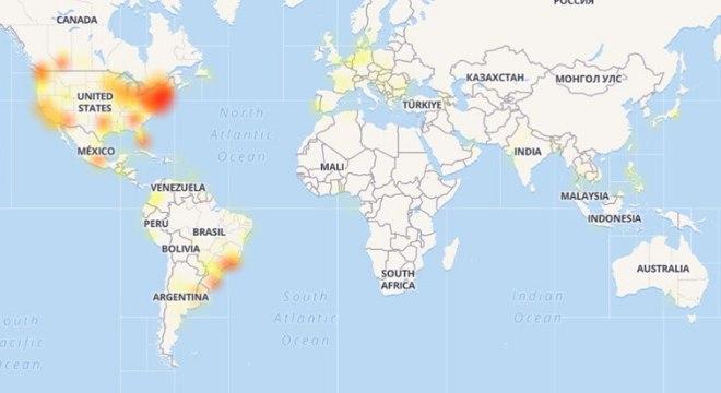 Queda do Facebook atingiu brasileiro e, principalmente, norte-americanos