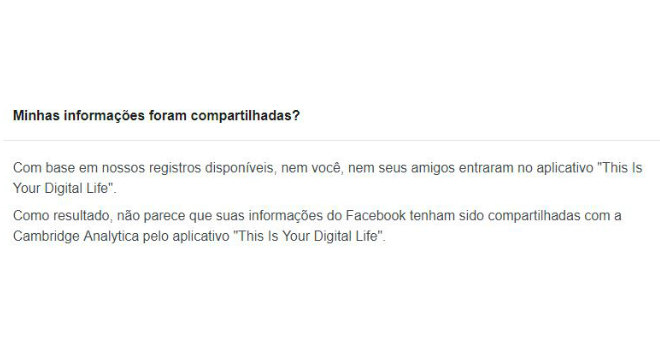 b86ee0db993ea Descubra se seus dados pessoais foram vazados pelo Facebook - Notícias - R7  Tecnologia e Ciência