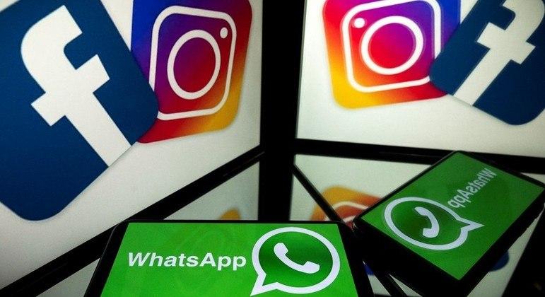 WhatsApp, Instagram e Facebook registraram instabilidade nesta segunda-feira (4)