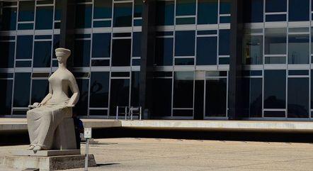 Sede do STF, em Brasília