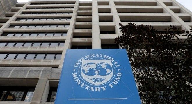 Fachada do Fundo Monetário Internacional