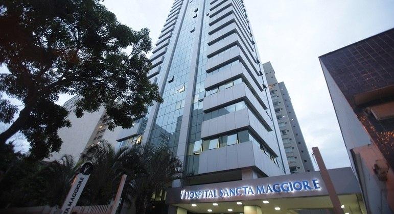 Fachada do Hospital Sancta Maggiore, da rede Prevent Senior, em São Paulo