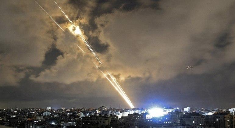 Mais de 4 mil foguetes foram disparados ao longo dos 11 dias de conflito
