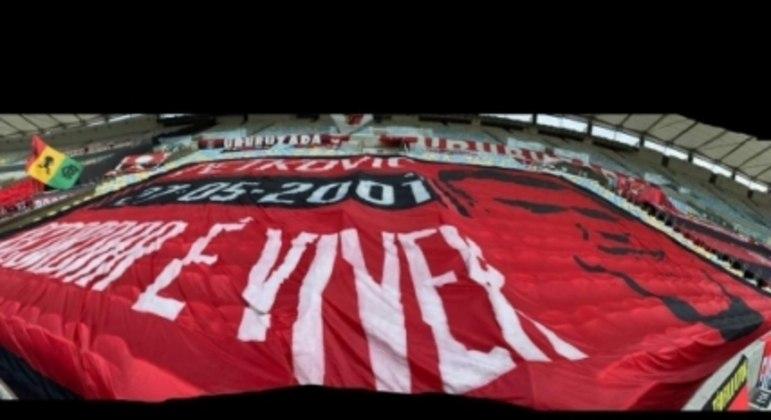 Faixa Flamengo - Petkovic