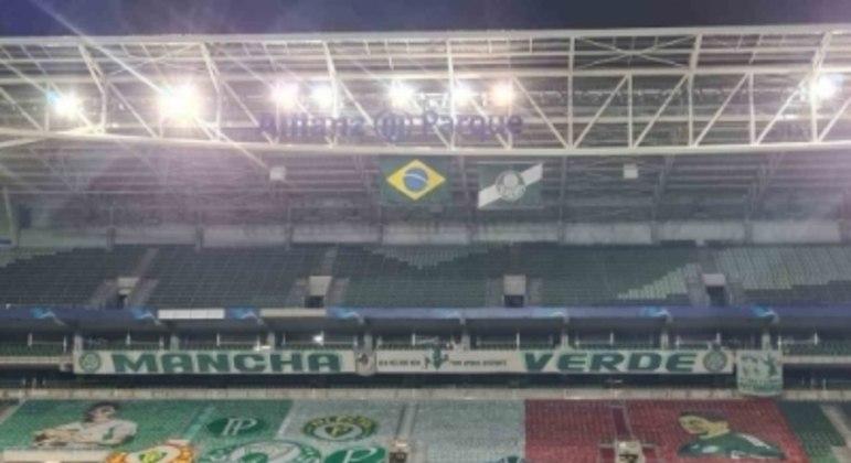 Faixa Palmeiras Corinthians