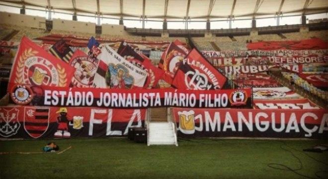 Faixas Maracanã Flamengo