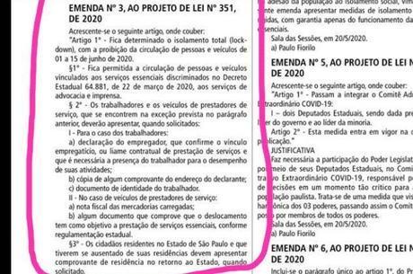 Texto é inverídico, ressalta governo de São Paulo