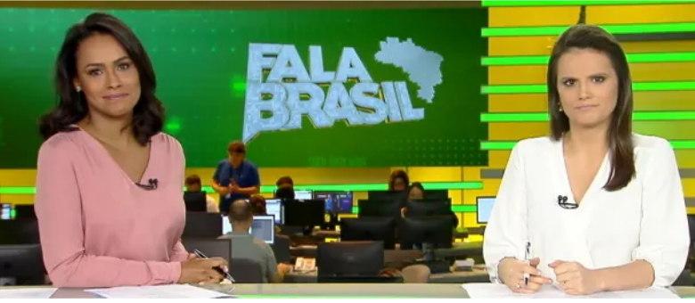 Salcy Lima e Roberta Piza apresentam o jornalístico com notícias informativas e entretenimento