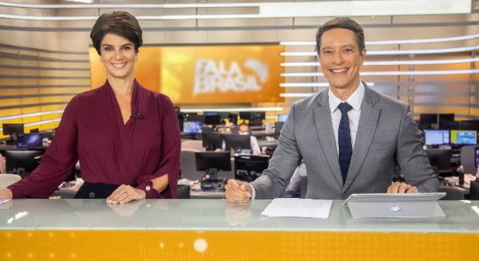 Mariana Godoy e Sergio Aguiar comandam o Fala Brasil a partir desta segunda (1º)