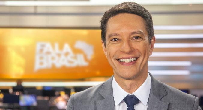 Sergio Aguiar é o apresentador do Fala Brasil