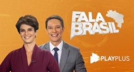 """Mariana Godoy e Sérgio Aguiar apresentam o """"Fala Brasil"""" nas manhãs da Record"""