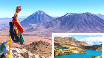 Comparação mostra as diferenças entre o Atacama e Patagônia  (Reprodução/Instagram)