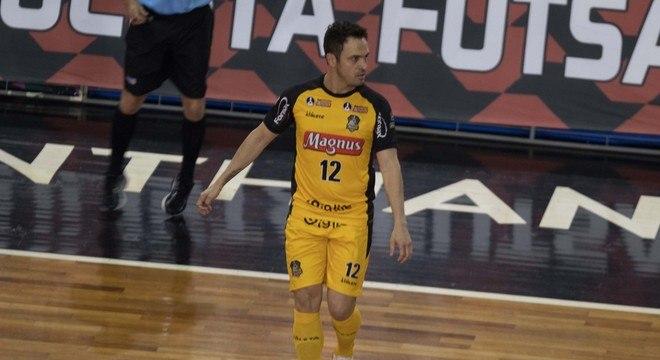 Falcão marcou gol, mas não evitou vice-campeonato do Magnus Sorocaba