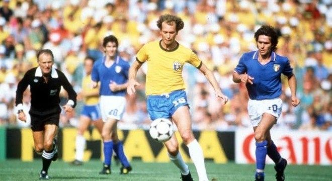Brasil e Itália, da Copa de 1982, ficou conhecida como Tragédia do Sarriá