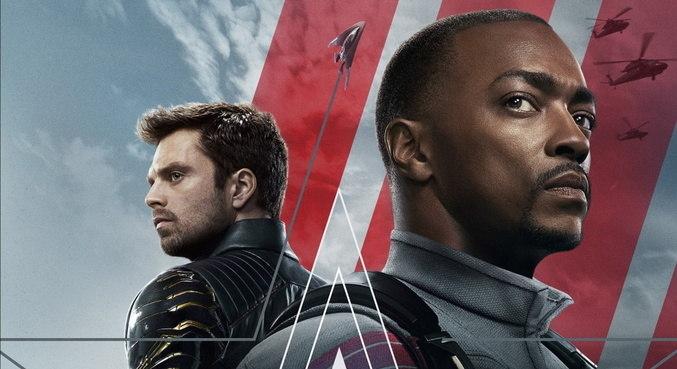 Anthony Mackie e Sebastian Stan protagonizam 'Falcão e o Soldado Invernal'