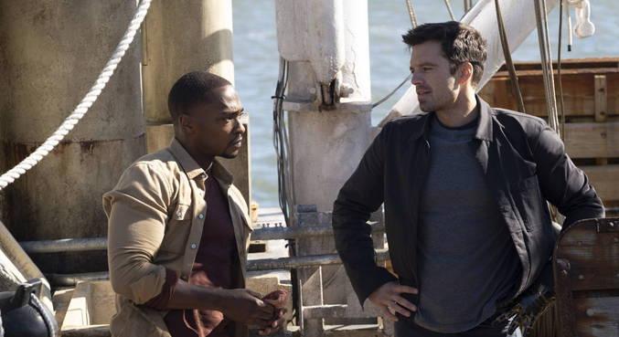 Podemos conhecer um pouco mais das vidas de Sam e Bucky no primeiro episódio