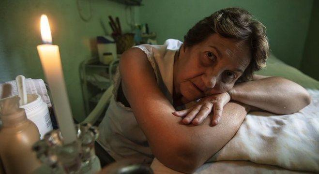 Rosa Trocoli teve o trabalho prejudicado pela falta de energia