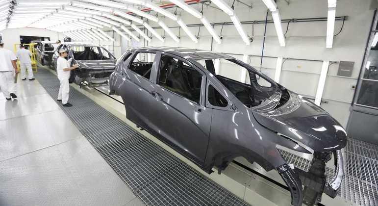 Honda paralisou fábricas no Brasil