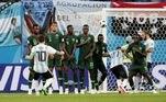 Falta Argentina x Nigéria Copa 2018