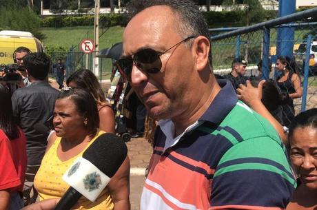 Marcos Luiz veio de Ipatinga para acompanhar as buscas b8b792ef508c8