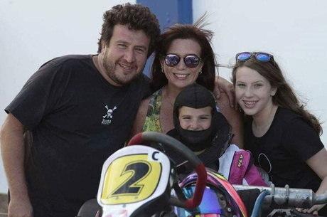 Família Bassani acompanha Totti em todos lugares